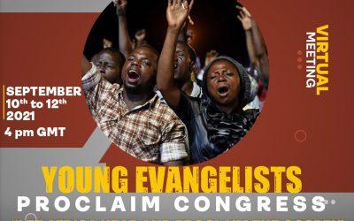 Proclaim African Evangelists Congress 2021